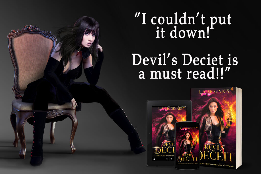 Devil's Deceit book release